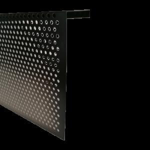 Grille de ventilation perforée