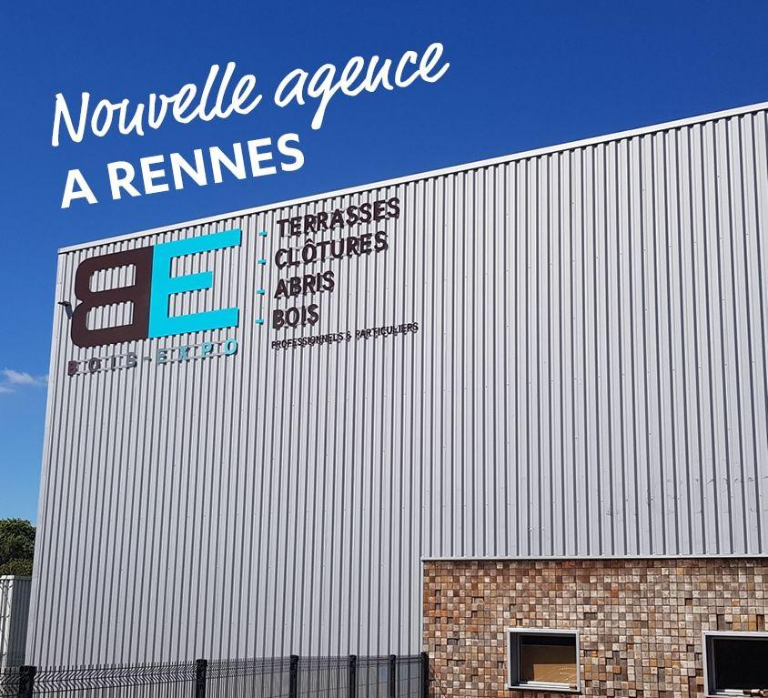 BOIS EXPO DISTRIBUTION - Nouvelle agence Rennes